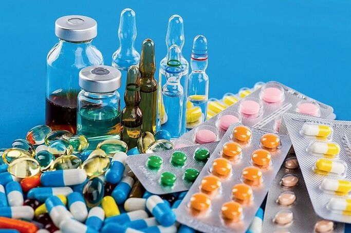 Tabletták a prosztatitisből a férfiak listáján)